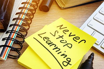 Blijven leren is een kwestie van doen